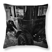 Old Betty  Throw Pillow