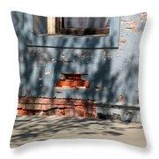 Old Bricks And Mortar Throw Pillow