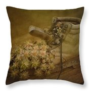 Old Brown Shoe Throw Pillow
