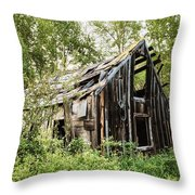 Old Building - Liberty Washington Throw Pillow