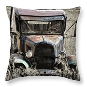 Old But Not Forgotten Throw Pillow
