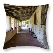 Old California Mission Throw Pillow