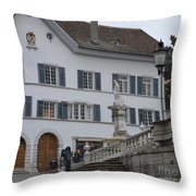Old Charm  Throw Pillow
