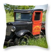 Old Chevrolet Truck Throw Pillow