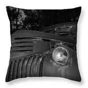 Old Chevy Truck 2 Throw Pillow