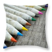 Old Chinese Pencil Throw Pillow