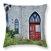 Old Church #1 Throw Pillow