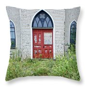 Old Church #2 Throw Pillow