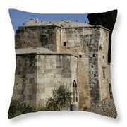 Old Church   #7173 Throw Pillow