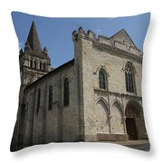 Old Church - Loire - France Throw Pillow