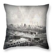 Old City 2 Throw Pillow