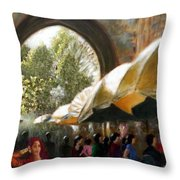 Old City Ahmedabad Series 7 Throw Pillow