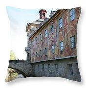 Old City Hall - Bamberg - Germany Throw Pillow