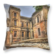 Charleston City Jail  Throw Pillow