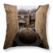 Old City Of Istanbul Throw Pillow