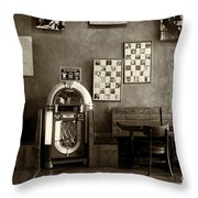 Old City Tavern Throw Pillow