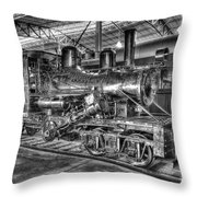 Old Climax No 4 Throw Pillow