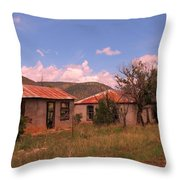 Old Country Homes Throw Pillow