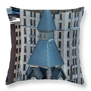 Old County Hall Winter 2013 Throw Pillow