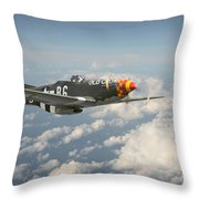 'old Crow' Throw Pillow