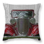 Old Desoto Throw Pillow