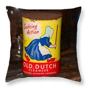 Old Dutch Throw Pillow