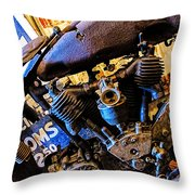 Old Excelsior Throw Pillow