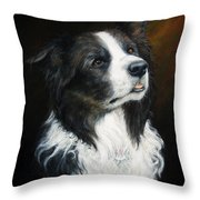 Old Faithful Throw Pillow by Joey Nash