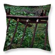 Old Farm Machinery - Series II Throw Pillow