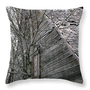 Old Farmhouse I I Throw Pillow