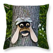 Old Fashion Security Camera Throw Pillow