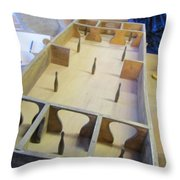 Old Fashioned Skittles Game Throw Pillow