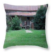 Old-fashioned Welcome Throw Pillow