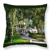 In Old Florida Throw Pillow