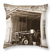 Old Ford Throw Pillow
