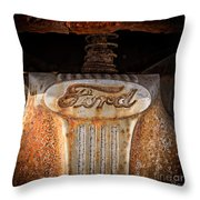 Old Ford Square Format Throw Pillow