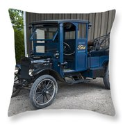 Old Ford Wrecker  Throw Pillow