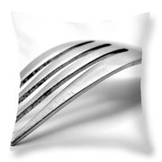 Old Fork Throw Pillow