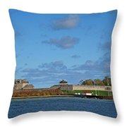 Old Fort Niagara Throw Pillow