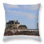 Old Fort Niagara Throw Pillow