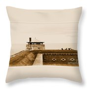 Old Fort Niagara North Redoubt Throw Pillow