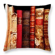 Old Friends Come Together Throw Pillow