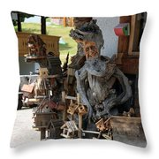 Old Geezer Throw Pillow