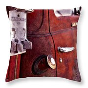 Old Glory Days Door Limited Edition Throw Pillow