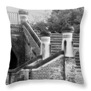 Old Grandeur Throw Pillow