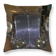 Old Grill Throw Pillow