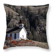 Old Headly Church Throw Pillow