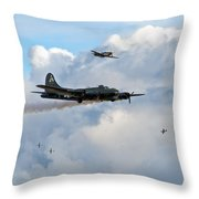 Old Hickory's Last Trip Throw Pillow
