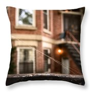 Old Homestead Throw Pillow by Margie Hurwich
