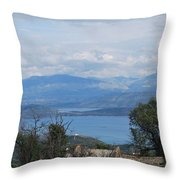 Old House 5 Throw Pillow